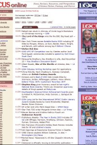 2003 Archive Page