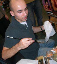 Spotlight on Daniel Dos Santos, Artist
