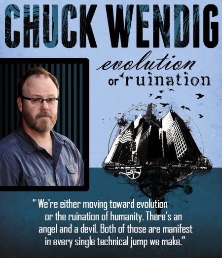 Chuck Wendig science fiction author interview