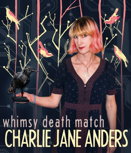 Charlie Jane Anders science fiction author interview
