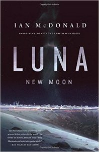 Luna: New Moon, Ian McDonald science fiction book review
