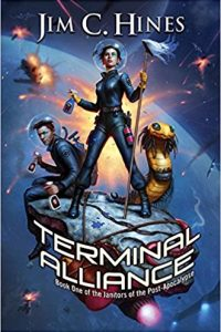 Carolyn Cushman Reviews <b>Terminal Alliance</b> by Jim C. Hines