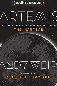 Amy Goldschlager Reviews <i><b>Artemis</b></i> Audiobook by Andy Weir
