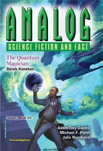 Analog Science Fiction Fantasy Magazine Review