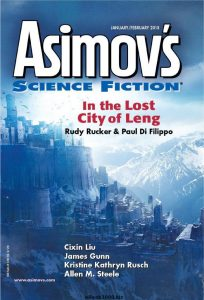 Asimov's Science Fiction Fantasy Magazine Review
