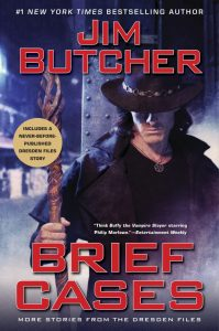 Jim Butcher, Brief Cases science fiction book review