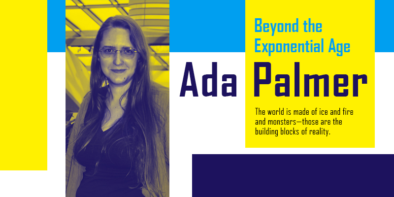 Ada Palmer science fiction author interview