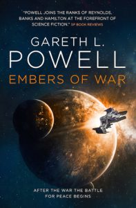 Embers of War, Gareth L. Powell science fiction book review