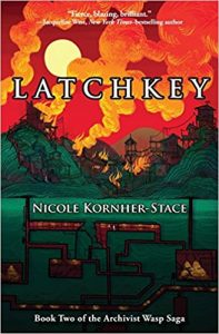 Latchkey, Nicole Kornher-Stace science fiction book review