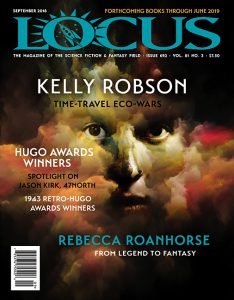 Locus science fiction and fantasy, Issue 692