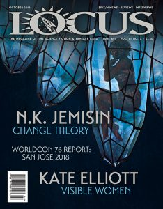 Locus Science Fiction Magazine #693 October 2018