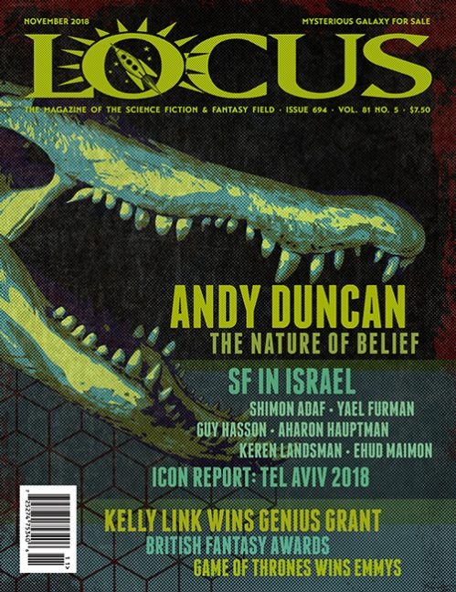 Issue 694 Table of Contents, November 2018