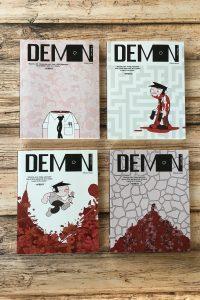 "Jason Shiga Guest Post–""The Science of Demon"""