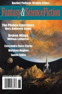Rich Horton Reviews Short Fiction: <i>F&SF</i>, <i>Stonecoast Review</i>, <i>Fireside Quarterly</i> & <i>Pulp Literature</i>