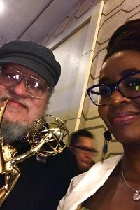 Photo Story: GRRM at the Emmys