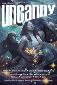 Rich Horton Reviews Short Fiction: <i>Uncanny</i>, <i>F&SF</i>, <i>Interzone</i>, <i>Galaxy's Edge</i>, and <i>Granta</i>
