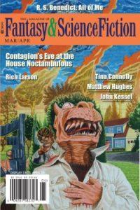Rich Horton Reviews Short Fiction: <i>F&SF</i>, <i>Galaxy's Edge</i>, <i>Zyzzyva</i>, <i>Interzone</i>, and <b>Mythic Journeys</b>