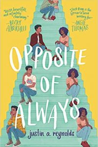 Colleen Mondor Reviews <b>Opposite of Always</b> by Justin A. Reynolds