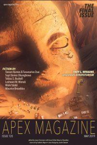 Karen Burnham Reviews Short Fiction: <i>Apex</i>, <i>Clarkesworld</i>, and <i>Lackington's</i>