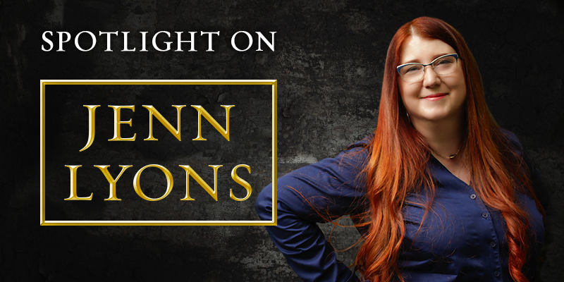 Spotlight on: Jenn Lyons
