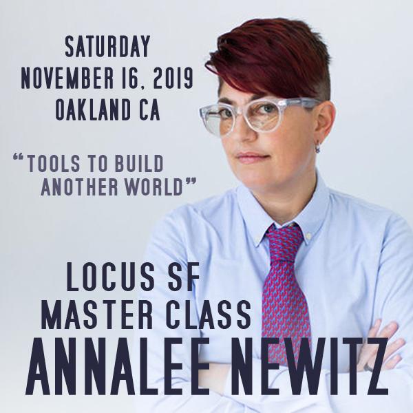 Locus Newitz Master Class Ad