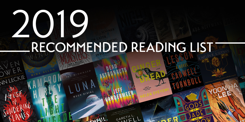 2019 Locus Recommended Reading List