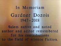 Salem Library Honors Gardner Dozois