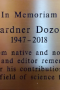 Salem Library Honors Gardner Dozois