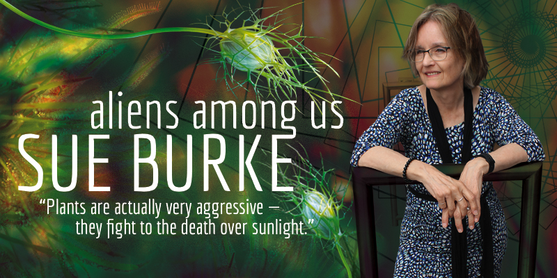 Sue Burke: Aliens Among Us