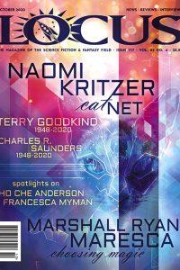 Cover of Ocotober 2021 issue of Locus