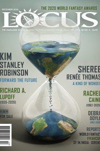 Cover of December 2020 issue of Locus