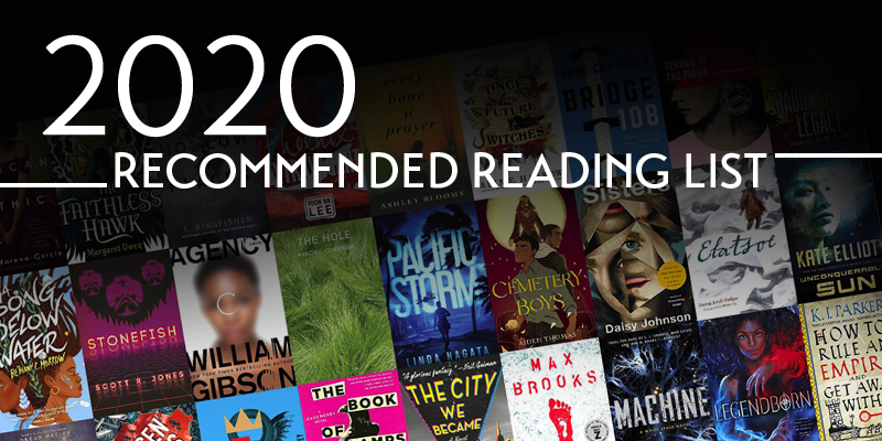 2020 Locus Recommended Reading List