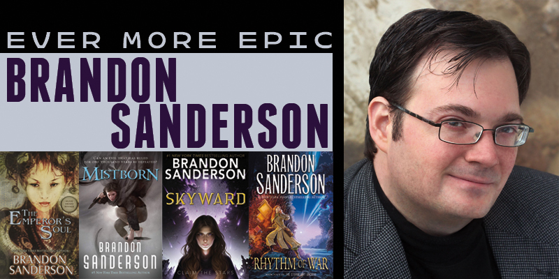 Brandon Sanderson: Ever More Epic