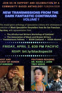 Bay Area Black Speculative Writers Reading