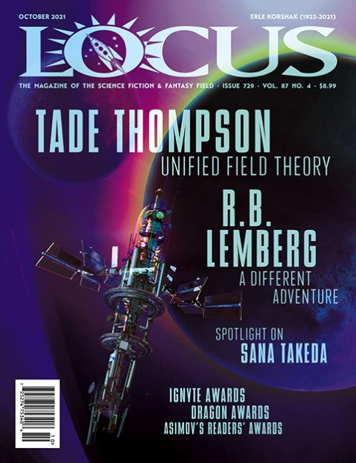 Issue 729 Table of Contents, October 2021